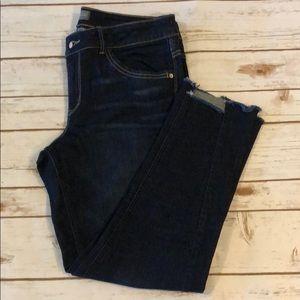 [Wit & Wisdom] Distressed Ankle Jeans